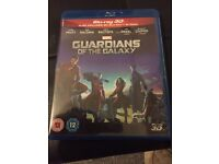 Marvel Guardians of the Galaxy 3d blu-Ray 2 disc