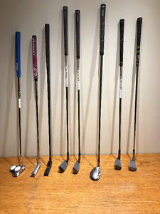 ASST. LADIES' RIGHT HANDED CLUBS