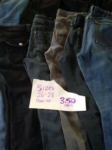 JEANS PRETEEN/TEEN/ADULT MEN AND WOMENS ASSORTED SIZES Kingston Kingston Area image 5