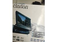 DVD Clarion 7 inches touch panel screen