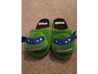 Turtles slippers new size 13