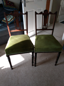 Two dining chairs- FREE