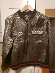 Bomber jacket veste aviateur femme neuf