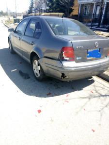 2003 Deisel Jetta, body damaged.
