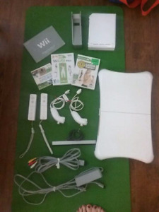 Wii plus fit board and all accessories