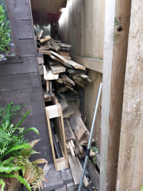 Timber scrap wood garden projects