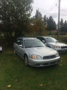 2 Subaru Outbacks...... SOLD, SOLD, SOLD