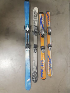 Skis with bindings for sale