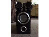 Sony Sound system speakers and subwoofer