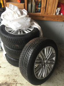 215 55 R17 Michelin  Winter Tires and Rims
