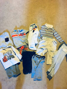 Baby tops and pants for 1-3ys boy