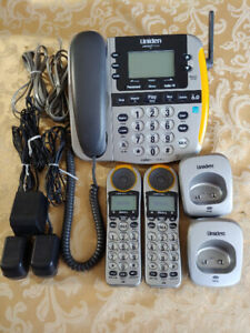 Cordless Phone with Answering Machine - Uniden Loud and Clear
