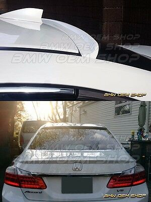2013 2017 ALL COLOR PAINTED HONDA ACCORD 9 SEDAN K STYLE ROOF SPOILER