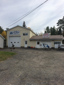 House and large garage for SALE