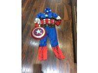 Age 9-10 CAPTAIN AMERICA costume (world book day?)