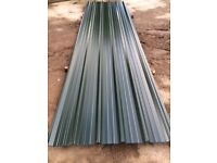Brand new Box profile juniper green sheets