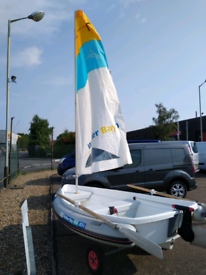 🚣Walker Bay 10 Sailing Rowing Dinghy🚣
