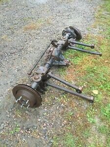 Dodge ram 1500 rear axle