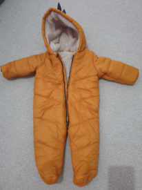 Baby snowsuit all in one 3-6 months