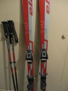 package: skis , boots, poles