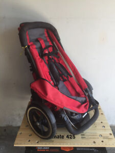 Phil and Teds jogger stroller with double kit