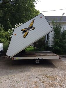 2010 Northtrail Snowmobile trailer