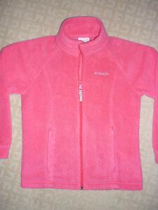 Girl's Columbia Fleece Jacket - size 10/12