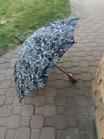 2 damask umbrellas, like new!!