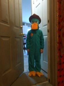 Perry the Platypus Halloween costume