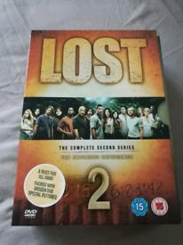 Lost DVDs Complete Season 2