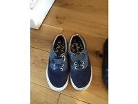 Boys shoe trainers and boot bundle. Clarks, puma etc