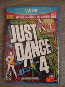 JUST DANCE 4 -  Jeux de Nintendo Wii U