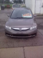 2009 Honda Civic lx-sr Sedan NEW MVI MINT!!!!!! taxis in deal