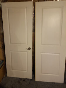 Brand new doors one with handle
