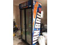 Irn bur commercial fridge