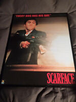 Scarface Poster In Glass Frame