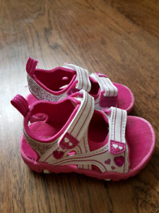 Size 5 baby girl sandals
