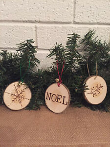 Rustic Handmade Holiday Ornaments St. John's Newfoundland image 2