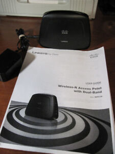 Linksys Wireless N Access Point with Dual-Band