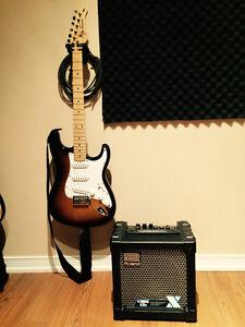 Guitare électrique et ampli - Guitar  & Amplifier (Starter kit)