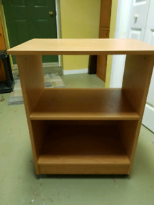 Small wheeled cabinet