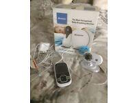 Motorola camera baby monitor and Binatone breathing monitor