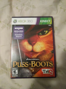 Puss in Boots Xbox 360 Kinect Game