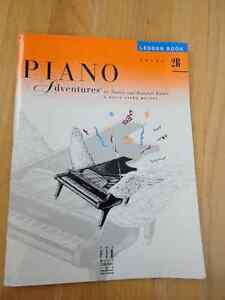 ACCELERATED PIANO ADVENTURES, PIANO LESSON BOOK, LEVEL 2B London Ontario image 1