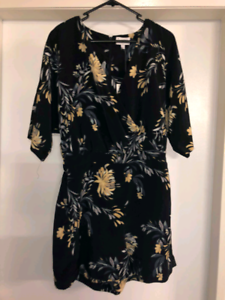 3 lovely ladies Summer dresses/playsuit (new with labels).