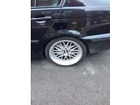 BBS LM 18 inch 5x120 Staggered figment