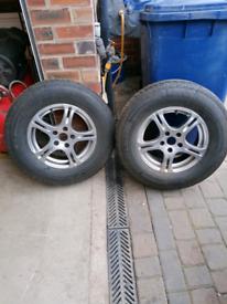 Caravan wheels