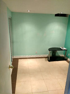 For rent a nice basement apartment W/separate entrance