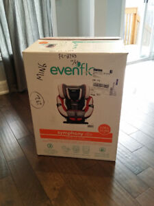 Brand New Evenflo Symphony DLX All-In-One baby car booster seat