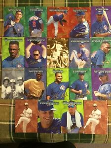 19 TORONTO BLUE JAYS SIZZLER CARDS INCL. 2 LIMITED EDTION CARDS